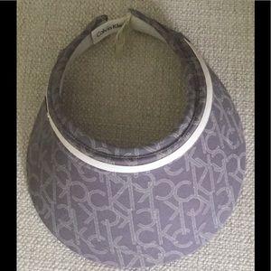 Calvin Klein signature visor